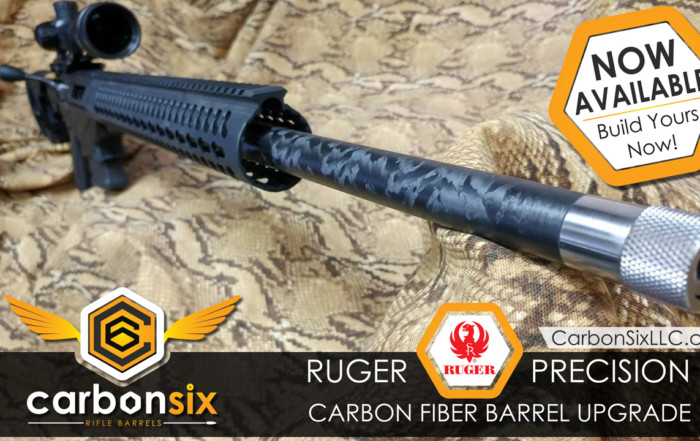 Carbon Six Now has Carbon Fiber Barrels for your Ruger Precision Rifle